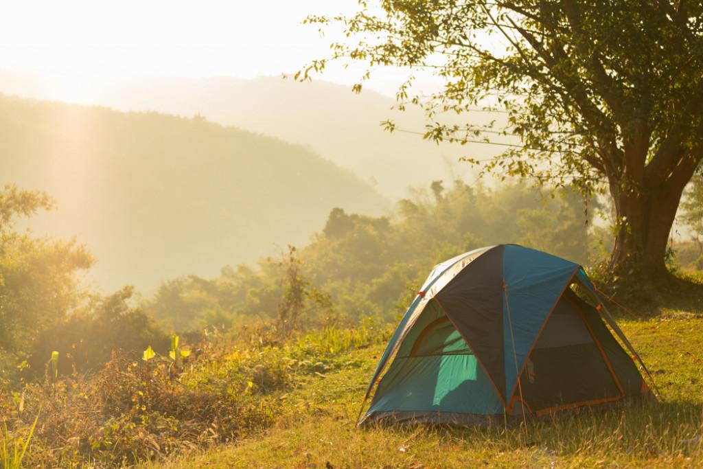 Campering i naturen er en hobby for mange danskere